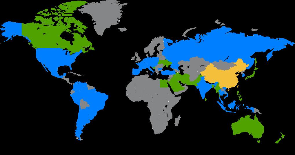 Dấu chân toàn cầu
